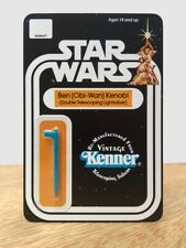 Double Telescoping Obi-Wan (Ben) Lightsaber *REAL KENNER PLASTIC* (Saber)