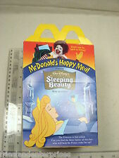 Disney Sleeping Beauty McDonalds Happy Meal Box