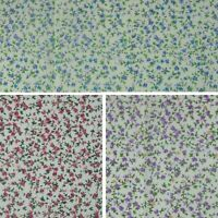 Forever Springtime Ditsy Floral Flowers Polycotton Fabric