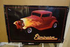 1988 Zz Topp Eliminator Poster