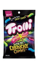 New listing Trolli Sour Crunchy Crawlers 3.8 oz Bag New Limited Edition Candy