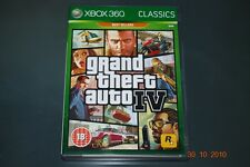 Grand Theft Auto IV Xbox 360 (Classics) UK PAL **FREE UK POSTAGE**