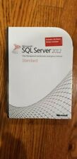 Microsoft SQL Server 2012 Standard,SKU 228-09842,10 CALs,Sealed Retail Box,Full