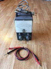 Very Nice Vintage Heath Heathkit V-7A VTVM Radio Valve Test Instrument + Leads
