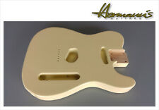 Telecaster Erle Body, Tele Alder Body, Finish High Gloss Vintage White