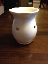 PARTYLITE White Heart Tart Warmer