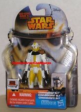 STAR WARS 2014 SAGA LEGENDS SERIES 7 COMMANDER BLY SL26 MOMC Sealed IN STOCK