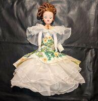 "MADAME ALEXANDER 22220 21"" Cissy Doll CALLA LILLY EVENING COLUMN AND BOLERO VTG"