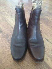 Mountain Horse Mens Riding Boots Size  Uk10 Equestrian Riding Leather Chelsea