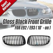 EURSPEC GLOSS BLACK FRONT GRILLE NOSE FOR BMW 3 SERIES E92 E93 LCI 2010-2013