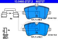 Bremsbelagsatz, Scheibenbremse für Bremsanlage Vorderachse ATE 13.0460-2727.2