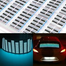 90x25CM Color Car Sticker Music Rhythm LED Flash Light Sound Activated Equalizer