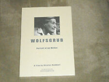 Wolfsgrub - Portrait of My Mother (DVD, 2007) a film by Nicolas Humbert