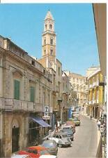 PALO DEL COLLE  -  Corso Garibaldi e Campanile della Chiesa Matrice