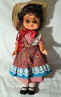Bambola vintage GADEA 45 cm ORIGINALE made in italy