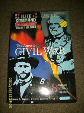 ELITE COMMAND COLLECTOR SERIES THE AMERICAN CIVIL WAR 8 DIECAST MILITARY FIGURES