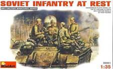 MiniArt 35001 1/35 Soviet Infantry at Rest Plastic Model Kit