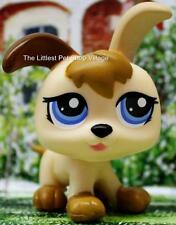 LITTLEST PET SHOP ❃ CREAMY VANILLA & BROWN PUPPY 1339 ❃ NEW ❃ PETRIPLETS DOG