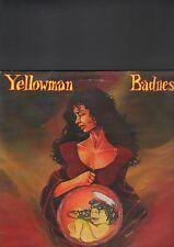 YELLOWMAN - badness LP
