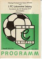 OL 79/80 BSG Chemie Leipzig - 1. FC Lok Leipzig