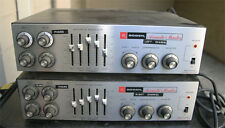 Pair (2) Bogen Acousta Master Amplifier Model Ct-100 Local Pick Up Only