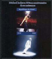 Chad 2018 MNH Michael Jackson 1v IMPF M/S I Popstars Music Celebrities Stamps