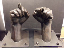 David Parvin FIST Original Unique Bronze sculpture Artist Commision Hand Signed