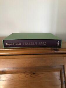 Folio - Italian Food by Elizabeth David. With slipcase