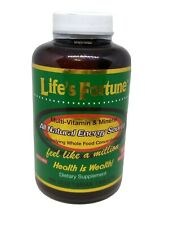 Life's Fortune Whole Food Multi-Vitamin & Mineral Energy Support  180  Tablets