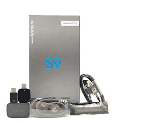 Fully Unlocked Samsung Galaxy S9 64GB SM-G960U [New Unused]