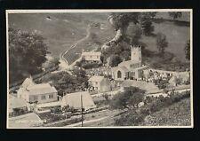 Dorset UPWEY Village General view wtih church Milton c1910/20s? PPC