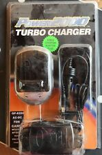 Power 2000 Turbo Charger for JVC bn-v408 / Panasonic CGR D08, D16, D28 110/220V*