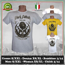 nero Sabbath T Shirt Bloody Sabbath Cutout band logo Ufficiale Uomo nero