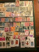 Timbres de collection: Espagne. 152 timbres. de 1851 à 1974.