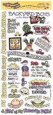 Crafty Secrets - Boy Stuff Scrapbooking Stickers - Like Father, Like Son