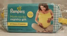 Pampers Mom To Be Registry Gift With Clutch, Sealed