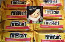 8 DURAFLAME Firestart Firelighters Flame bonfire camp-fire warm hot stuff