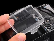 BM-7 Hard Clear Plastic Rear LCD Monitor Screen Cover For Nikon D80 - UK STOCK