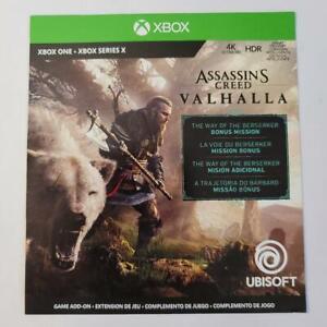 Assassin's Creed Valhalla DLC Preorder Bonus Xbox One / Series X