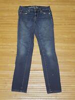 American Eagle AEO Super Stretch Skinny Jeans Womens Size 4 Regular