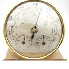Wall mounted thermometer hygrometer pressure gauge air weather barometers H