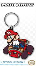 Mario Drift - Super Mario Kart - Gummi Schlüsselanhänger / rubber keychain