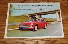 Original 1967 MG MGB GT Deluxe Sales Brochure 67