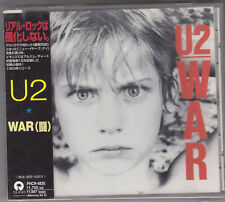 U2 - war CD japan edition