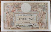 Billet 100 francs LUC OLIVIER MERSON 17 = 5 = 1934 FRANCE N.44729