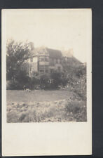 Unknown Location Postcard - Real Photo of a Large Country House RS7400