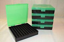 Berrys Plastic Ammo Box (5 Pack) Zombie Green & Black 9Mm / 380 Acp