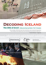 """Decoding Iceland: The DNA of Greed.""  Film by Hörður ""H.A."" Arnarson. DVD-PAL."