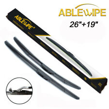 "ABLEWIPE 26""&19"" Fit For ACURA TL 2004-2014 Premium Windshield Wiper Blades J/U"