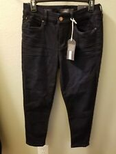 The  Limited Ladies Denim Ankle Skinny Jeans   10P New With Tags  Dark Wash